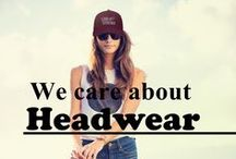 We Care About Headwear