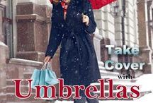 Take Cover with Umbrellas / Take cover with umbrellas. Many style and colors.