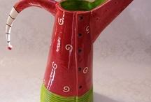 Clay handles