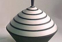 Ceramics - lidded vessels