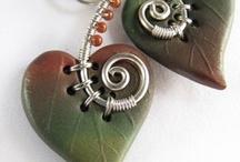 Clay - pendants and jewellery