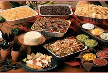 FOOD ~ Party Bars / Food Stations / Food bars, stations, and table ideas.