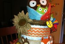 BABY SHOWER ~ Diaper Cakes / Diaper Cake ideas and inspirations for baby