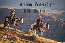 Dude and Guest Ranches / Book a week at one of our dude and guest ranches.  Enjoy fishing, horseback riding, pack trips and weekly rodeos.  http://www.windriver.org
