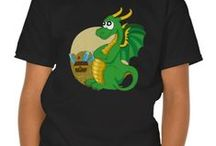 Kids clothing collection / My designs of t-shirts, hoodies and sweatshirts for children available on Zazzle