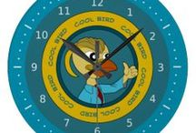 Clocks collection / My designs of clock available on Zazzle