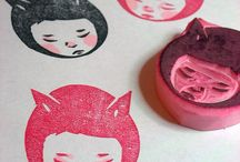 rubber stamps - ideas