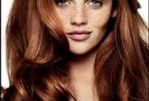 Red and copper hair / Inspiration for all shades of red and copper