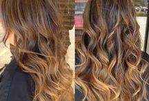 Ombre and balayage colour / Inspiration for ombre and balayage colour effects