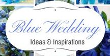 WEDDING ~ Blues , Teals, Turquoise / Blue wedding ideas and inspirations for that special day.