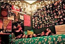 Decorating my room.