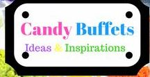 Candy Buffets  & Dessert Tables / Candy / Dessert Tables for weddings, showers, proms, and parties.