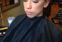 Ashley Toia's work / Formal styling, makeup