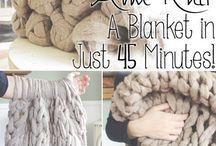 diy : knit weave loom crochet