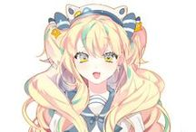 Blonde Haired Anime / Hey blondie!