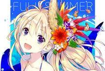 Summer Anime / Its summer.