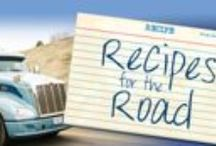 Road Recipes and Snacks / Follow us for great recipes that can be made in your truck or for life on the road!