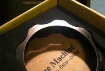 Scarf holders Bracelets - Fermasciarpe e Bracciali / Silver, brass, wood and plexiglass handcrafted scarf holders. - Bracciali e fermasciarpa, disponibili in argento rodiato, ottone dorato, legno e plexyglass.