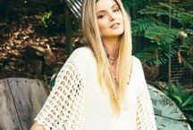 Crochet Crush / Bohemian crochet fashions for the free spirited. Australian fashion online at White Bohemian.