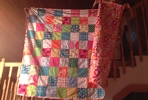 Hatteras Fishermen's Quilts / These quilts, hand made of 100% cotton flannel, are created in Hatteras Village, NC. Contact the designer at mosyellen@gmail.com.