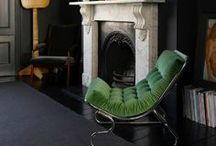 The Fireplace ~~~ / by Diane Leach
