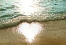 Praia, mar e surf / amo! amo! amo!