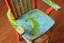 Cadeiras / recicle, reinvente, recrie...