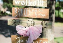 Inspiratie bruiloft / Inspiratie bruiloft