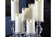 "Reallite Flameless LED Wax Candles / Reallite candles are battery-operated, genuine wax candles. The patented ""real flame"" appears identical to a lit candle."
