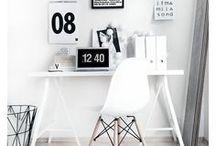 HOME OFFICE / Inspiração home office dos sonhos.