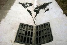 streetart. / keeps the world fun to walk on.