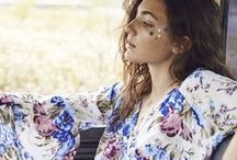 Flower Power / While the delicate and bold floral prints are oh-so-hot-right-now, we thought we would hare with you some of our favourites...