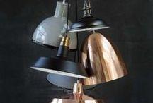 LUMINÁRIAS / Diferentes tipos de luminárias.