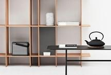 own design - tact shelving / A shelving system for the danish company ARTEFACT COPENHAGEN. Design ERNST & JENSEN, DENMARK. Styling: BUNGALOW5.dk