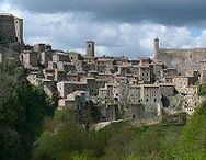 "Sovana, Sorano, Pitigliano / The Tufa Towns of Southern Tuscany are about 45 minutes to an hour away from Benano, and each one has its own charm. Pitigliano has a fascinating Jewish quarter, Sovana boasts a stunning 11th century Cathedral, and Sorano earned its ""La Citta del Tufo"" moniker."