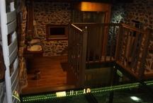 La salle de bains du gîte La Polonie
