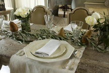 the art of entertaining / Beautiful table settings, flowers, linens, menu and serving ideas...it's all in the presentation.  Anything goes, just have fun!