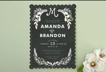Wedding Design - invitations/table placement inspiration / Wedding invitations/table placement design inspiration