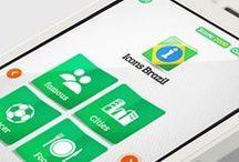 Icons Brazil /  Icons Brazil é um game que apresenta os ícones culturais, culinários e turísticos do país.