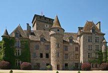 Les châteaux d'Auvergne / Les plus beaux châteaux de la région d'Auvergne - France