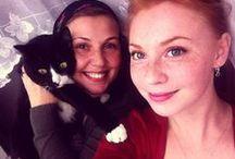 My family. Orthodox. Happiness . / Любимая дочь. Любимый муж. Кошка.