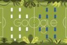 Mundial 2014 Brazil Google doodles!