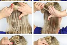Hair Tutorials - Step by Step Picture Tutorials / Step by step hair tutorials - need some hairstyle inspiration?  You'll love these braids - French, fishtail, buns, Updo's and more!