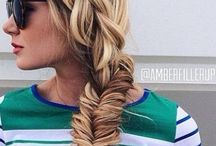 Styles I love / Gorgeous hairstyles that I love!  From boho to chic, these hair photos are sure to inspire some braid envy