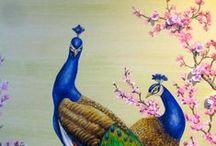 Animals portraits / con particolari espressioni e tecniche pittoriche www.giovannamalacarne.com
