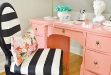 VintageMeetsGlam (Blog pins) / Vintage Glam decor, DIY projects and room makeovers!