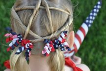 Fourth Of July Hairstyles / 4th of July hairstyles.  Find a hairstyle perfect for your Independence Day celebrations!