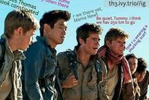 The Maze Runner / Shuck face : Newt... Me : shut up. Don't talk about this in front of me.