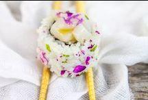 Sushi, Maki, Nigiri and other yammi asiatic food
