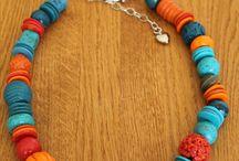 """""""Erna"""" armbanden, kettingen en oorbellen"""